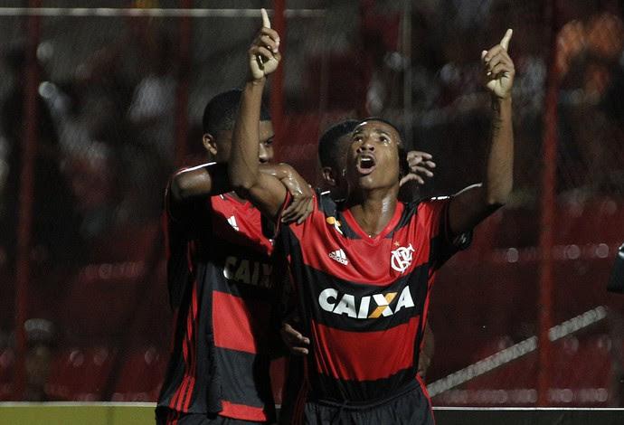 Jean Lucas Flamengo x São Caetano Copinha (Foto: Agência Estado)