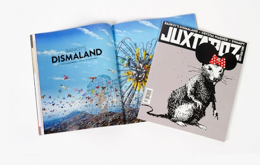 Juxtapoz Magazine - Juxtapoz Exclusive: An Interview with Banksy about Dismaland