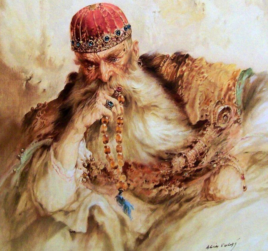 Ali_Pasha_Tepelena_Oil_paint_of_Agim_Sulaj.jpg (900×842)