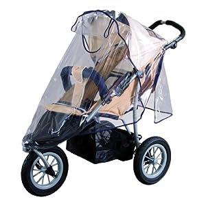 Sunnybaby 10083 - Universal-Regenverdeck für Sportwagen, Shopper, Jogger oder Buggy mit Dach