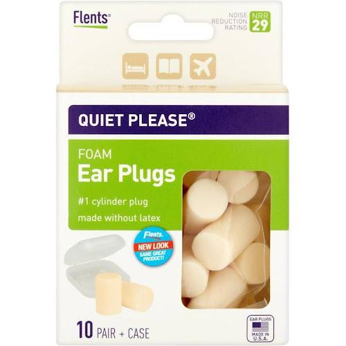 Flents Quiet! Please Foam Ear Plugs - 10 pairs