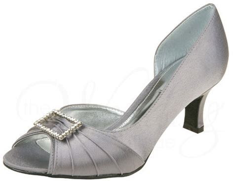 Christina Z031 Grey by Lexus Wide Fit Wedding Shoes