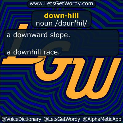 downhill 02/20/2018 GFX Definition