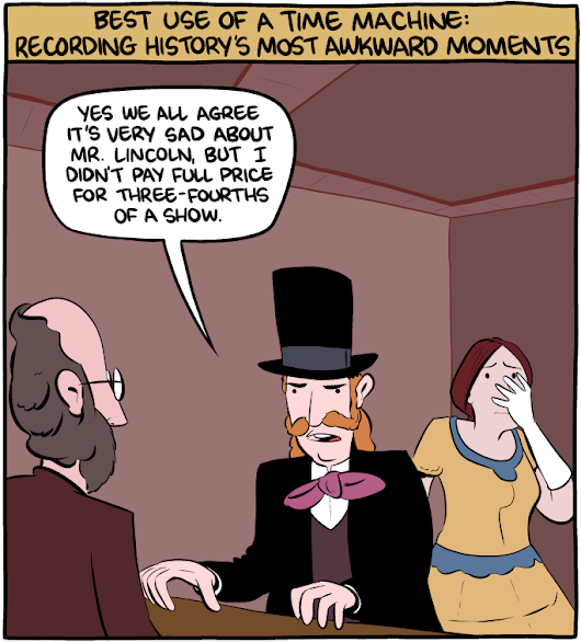 Saturday Morning Breakfast Cereal - Time Awkwardness
