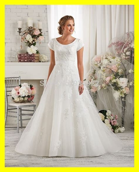 Short Vintage Wedding Dresses Modest With Sleeves Cheap