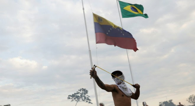 INTERNACIONAL: Brasil condena violência e 'caráter criminoso do regime Maduro'