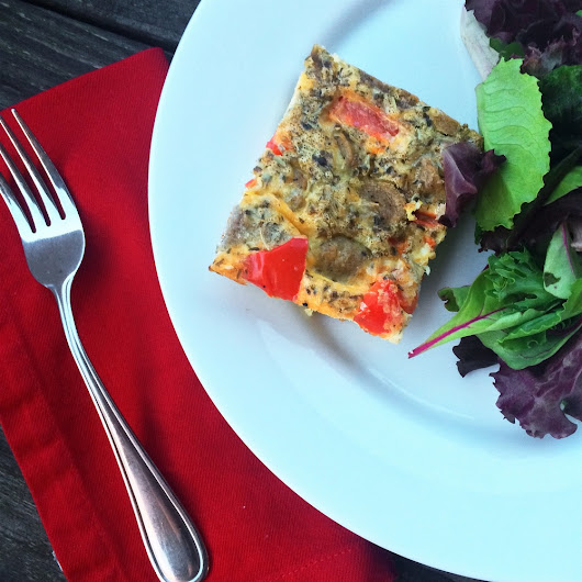 Make // Crustless Quiche