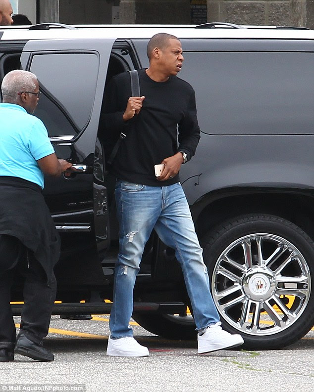 In the news:The outing comes after Jay Z finally responded to Beyonce's new album Lemonade, in which she hinted he's been unfaithful