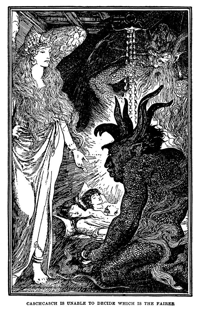 Henry Justice Ford - The Arabian nights entertainments selected and edited by Andrew Lang, 1898 (illustration 10)