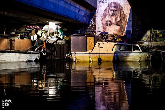 Borondo Narcissus Street Art in Hackney Wick, London