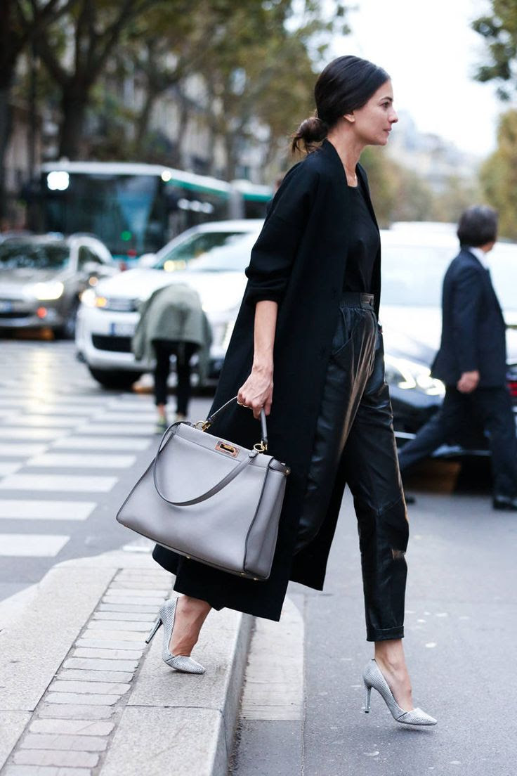 Paris Street Style Photos - Spring 2015 PFW Street Style Pictures - Elle