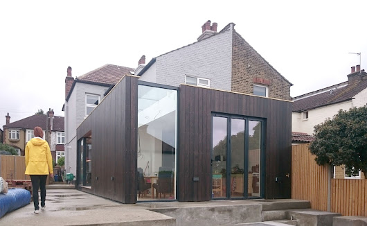 Blackened Timber Extension in New Malden - update | Architecture & Design in Hackney
