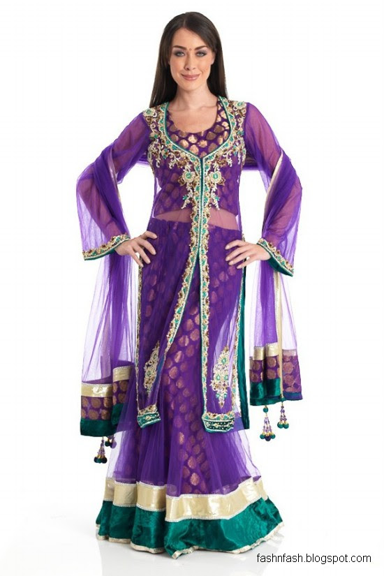Anarkali-Frocks-in-Double-Shirts-Style-Double-Shirt-Dresses-2012-2013-7