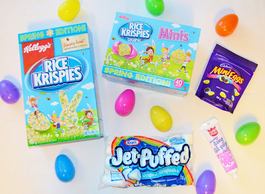 Spring Edition Rice Krispies Treats Giveaway - MBAMamaMusings