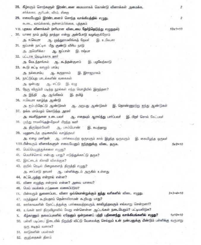 Gk Questions In Tamil 2017