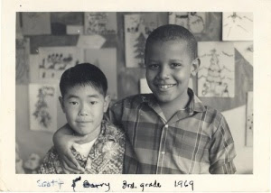 obama 2 scott and barry 3rd grade 1969 punahou school in hawaii The Mystery of Barack Obama Continues