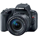 Canon EOS Rebel SL2 24.2MP DSLR Camera with EF-S 18-55mm f/4-5.6 IS STM Lens, Black