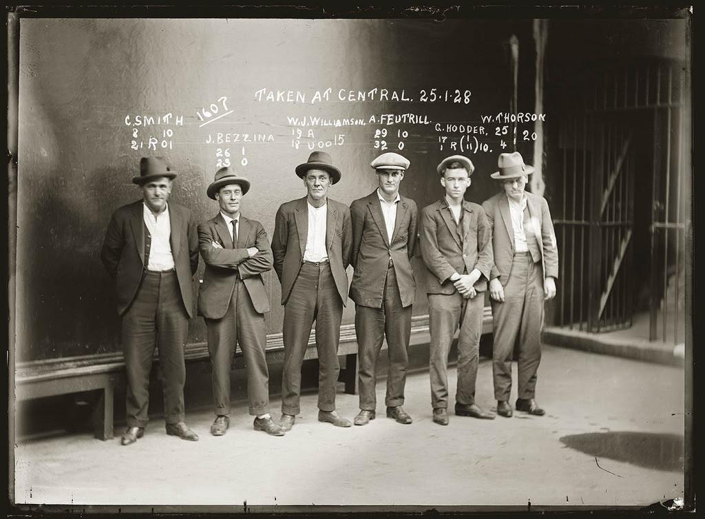 photo police sydney australie mugshot 1920 16 Portraits de criminels australiens dans les années 1920  photo photographie histoire featured art