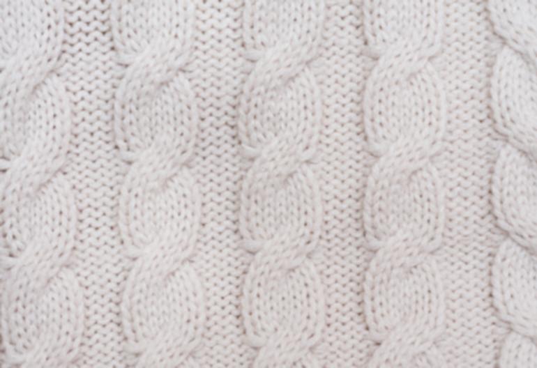Knit Blanket Pattern For Beginners