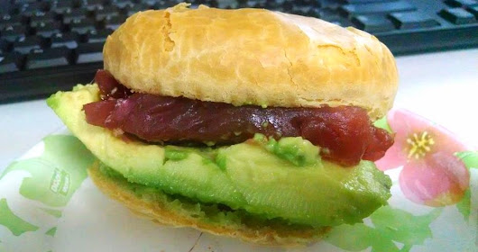 Tuna Avocado Sammy  ~ Grain Free Guru