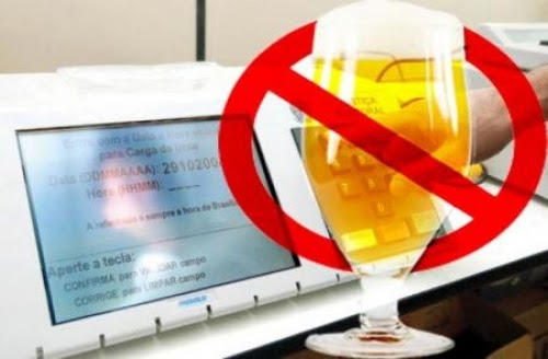 Lei Seca proíbe venda e consumo de bebida alcoólica na eleição