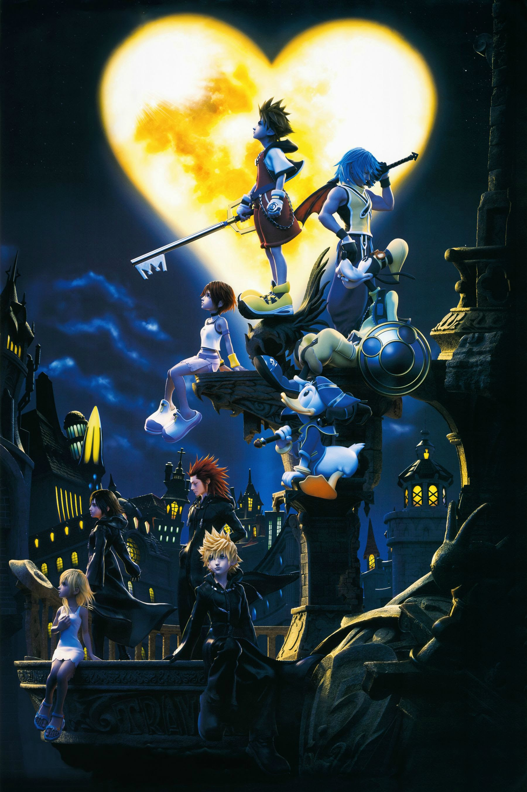 Ive removed all of the logos and writings from this Kingdom Hearts poster. Enjoy! : KingdomHearts