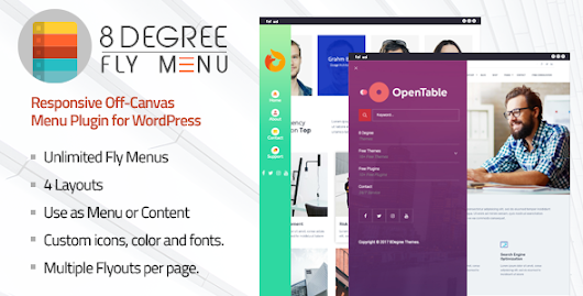 Download 8Degree Fly Menu - Responsive Off-Canvas Menu Plugin for WordPress nulled | OXO-NULLED