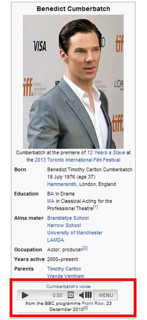 cumberbatch wikipedia voz
