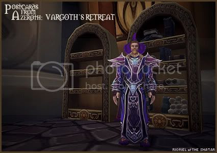 Postcards of Azeroth: Vargoth's Retreat, by Rioriel Ail'thera