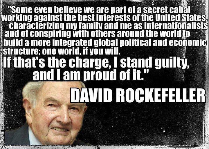 Image result for David Rockefeller Illuminati