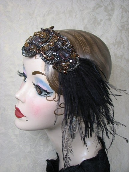 Munyip Gets Married 1920s Hair Pieces