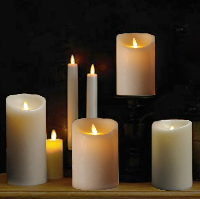 Liown Moving Flame Candles Annabelles Interiors Inc Design