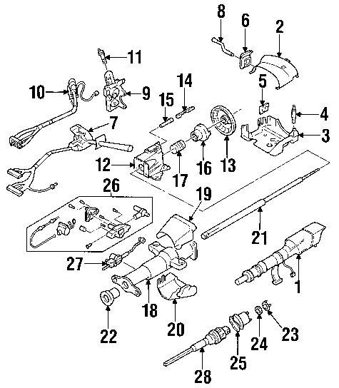 2001 Chevy S10 Exhaust System Diagram