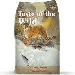 Taste of the Wild Canyon River Grain-Free Trout & Smoked Salmon Dry Cat Food, 5 lbs., 5lb