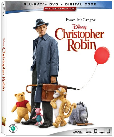 Christopher Robin Now on DVD/Blu-Ray/Digital (+giveaway) - Callista's Ramblings