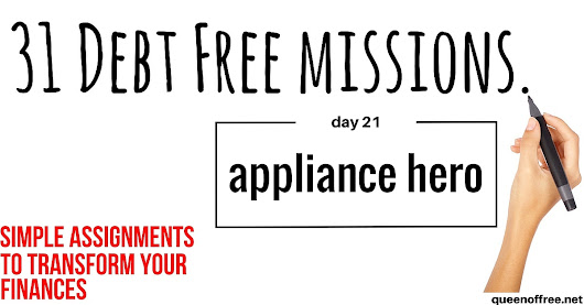 Save Money & Pay Off Debt by Showing Your Appliances Love!
