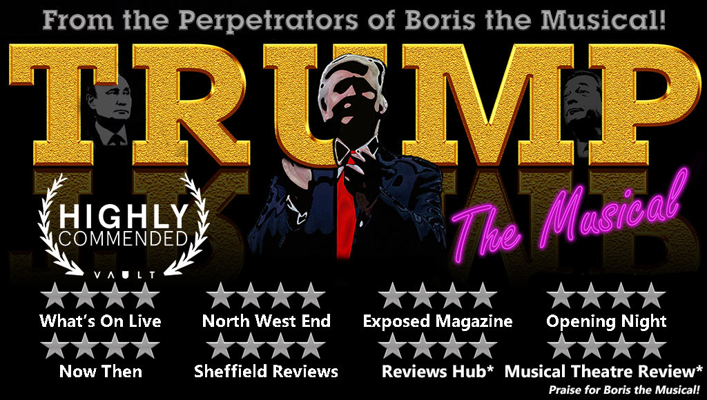 Image result for trump the musical