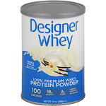 Designer Whey Protein Powder, French Vanilla - 12 oz canister