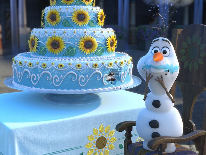 """Josh Gad says of his snowman Olaf: """"From the beginning,"""