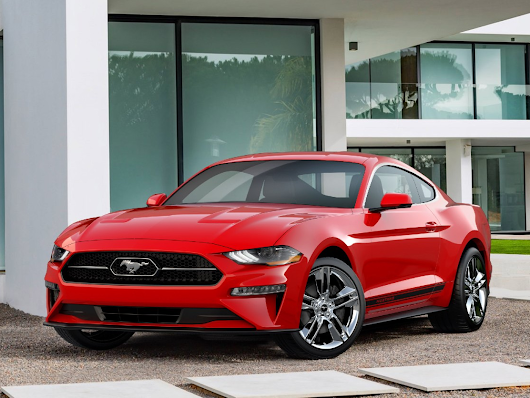 New Appearance Package for 2018 Mustang Puts Pony Logo Back in Chrome Corral | Ford Media Center