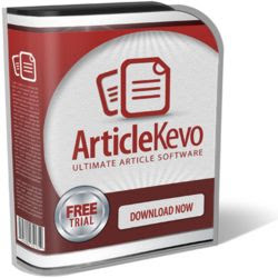 Article Kevo Review - Wannah Enterprise   SEO Backlinks Software