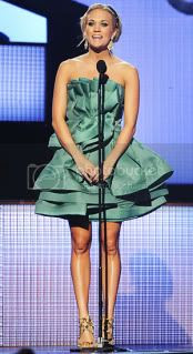 Carrie Underwood's Eight CMA Fashion Styles