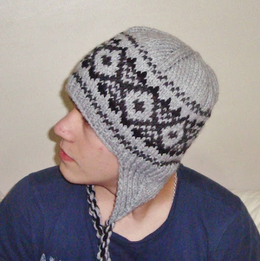 Mens Hat Earflap Hat Beanie Men Hat Beanie Earflap by earflaphats