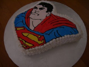 Diary of a cake stylist superman cake frozen buttercream for Superman template for cake