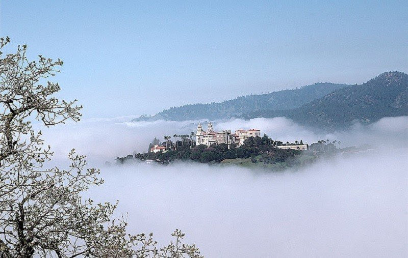 Hearst Castle Aerial View