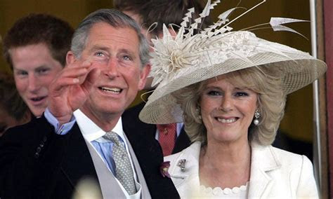 Camilla Parker Bowles recycled wedding dress two years