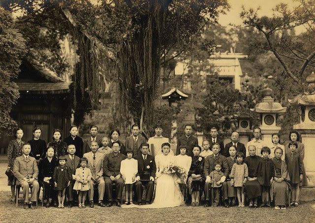 marriage-ceremony-late-1930s, Taipei