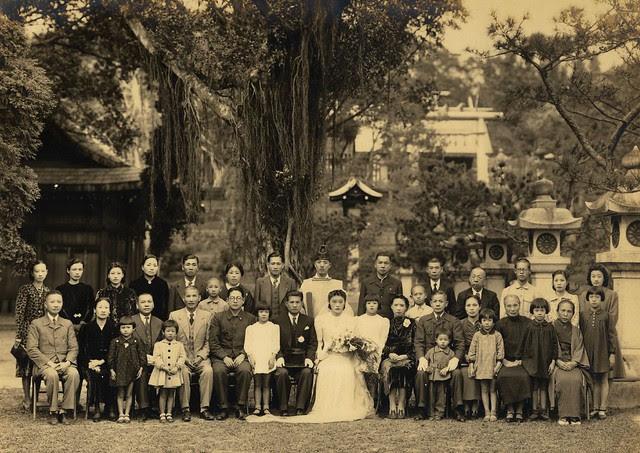marriage-ceremony-late-1930s, Taipei