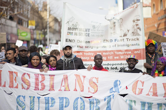 Peckham Pride: Hundreds march for LGBT asylum seekers