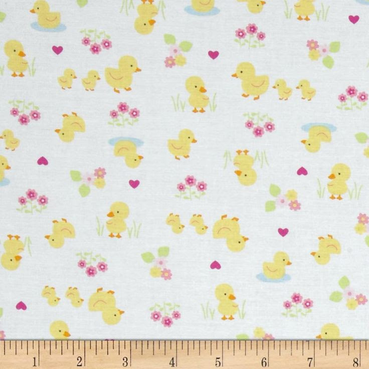 Baby Buddies Chicks White by Whistler Studios for Windham Fabrics $6.74/y